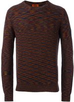 Missoni melange crew neck jumper