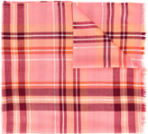 Paul Smith plaid scarf - women - Lambs Wool - One Size