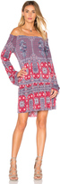BCBGeneration Bell Sleeved Mini Dress