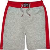 River Island Mini boys grey red shorts