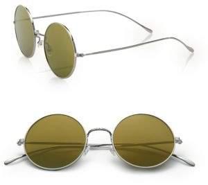 Illesteva Porto Cervo 57MM Round Sunglasses