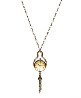 Frankie & Stein Women's Necklaces - Vintage Watch Pendant Necklace
