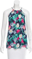 Joie Silk Floral Print Top