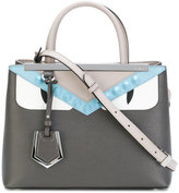 Fendi small 2Jours tote - women - Calf Leather/metal/glass - One Size