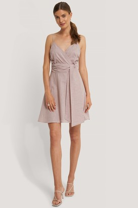Trendyol Wrapped Belted Mini Dress