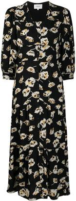 BA&SH Ullia floral jacquard dress
