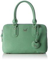 Sansibar Women's Top-Handle Bag Green Grün (lagoon)
