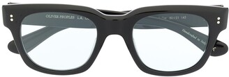 Oliver Peoples Shiller square-frame glasses