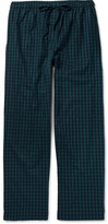 Derek Rose - Braemar Checked Cotton-Flannel Pyjama Trousers