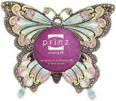 Asstd National Brand Butterfly Beaded 2x2 Picture Frame