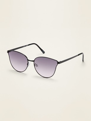 Old Navy Wire-Frame Cat-Eye Sunglasses for women