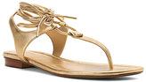 MICHAEL Michael Kors Women's Sofia Flat Sandal