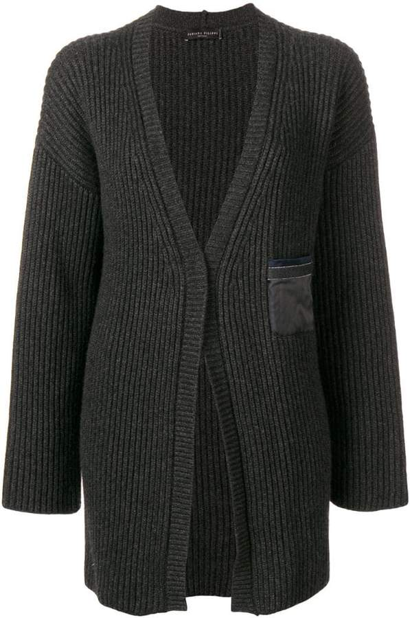 Fabiana Filippi My Private life cashmere rib knit cardigan
