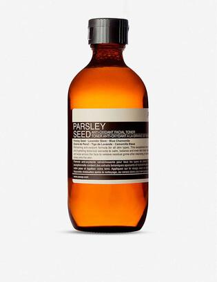 Aesop Parsley Seed antioxidant facial toner 200ml