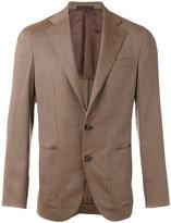 Caruso classic blazer - men - Cupro/Wool - 50