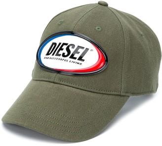 Diesel C-Diaz logo patch cap