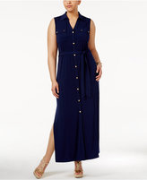 MICHAEL Michael Kors Size Maxi Shirtdress