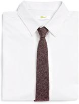 Topman Plum Nep Flannel Tie