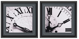 Clocks II by Photo INC (Framed Giclee) (Set of 2)