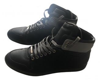 Christian Dior B01 Black Cloth Trainers