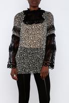 Anna Sui Long Sleeve Top