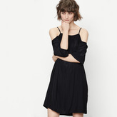 Maje Floaty dress with mid-length sleeves