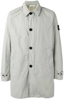 Stone Island single-breasted coat - men - Polyamide/Polyester - S