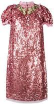 Dolce & Gabbana sequinned embellished dress