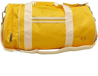 Fred Perry Mens Twin Tipped Barrel Bag Sunglow