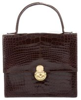 Ralph Lauren Alligator Handle Bag