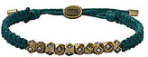 Fossil Global Nomad Woven Beaded Adjustable Bracelet