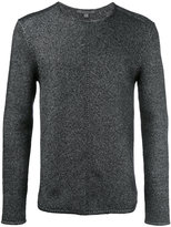 John Varvatos crew neck jumper - men - Polyester/Wool - M