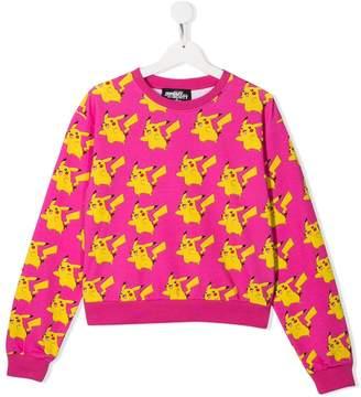 Jeremy Scott Junior TEEN Pikachu print sweatshirt