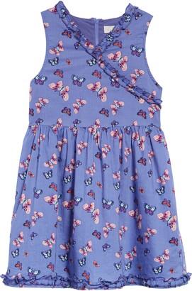 Peek Aren't You Curious Kids' Butterfly Print Dress
