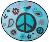 Nobrand No Brand World of Peace Bath Rug