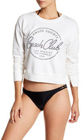 Amuse Society Beach Club Long Sleeve Sweatshirt