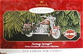 Harley-Davidson 1999 Hallmark Keepsake Heritage Springer Motorcycle