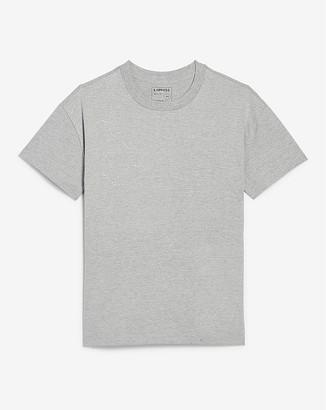 Express Gray Circle Graphic T-Shirt