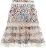 Zimmermann Lovelorn Flutter Skirt