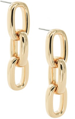 Uncommon James by Kristin Cavallari Chain Link Drop Earrings