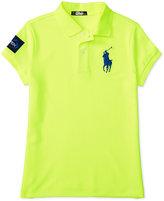 Ralph Lauren Girls' US Open Big Pony Polo