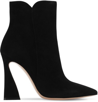 Gianvito Rossi 105mm Suede Ankle Boots
