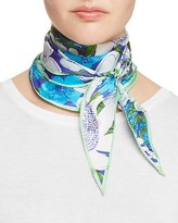Echo Rue Floral Diamond Scarf