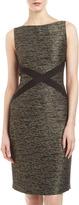Lafayette 148 New York Milla Noble Reed Tweed Dress