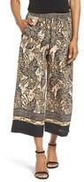 Women's Kobi Halperin Sutton Wide Leg Print Silk Pants
