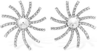 Alessandra Rich Crystal Star Clip-on Earrings