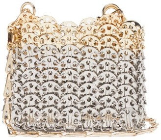 Paco Rabanne Iconic 1969 Mini Chainmail Bag - Silver Multi