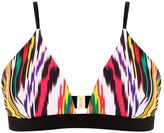 Warehouse Rainbow Ikat Bikini Top