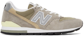 New Balance Grey Made In US M996 Sneakers