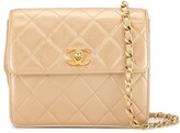 Chanel Pre Owned 1992 diamond quilted crossbody bag